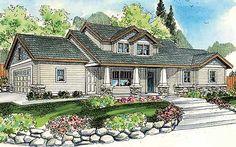 Sturdy Craftsman Home - 72250DA | 1st Floor Master Suite, Bonus Room, CAD Available, Corner Lot, Craftsman, Northwest, PDF | Architectural Designs
