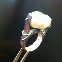 Argento oro e perla
