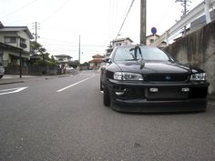 GC8 Type RA Limited Impreza.. The Death Star would be proud of this Rally Bred street machine on Gram Lights 57Xtreme's in mate black, STI adjustabel spoiler, CUSCO suspension, and Brembo sto…