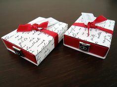 Bride & Groom Matchboxes