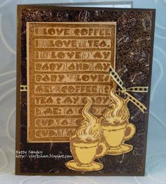 *{CraftChaos}*: Spring Coffee Blog Hop3: cards and GIVEAWAY
