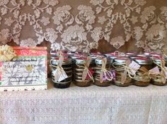 GIRL BABY SHOWER Favors : Organic Sugar Scrubs Set of 20. Sugar and Spice And Everything Nice That's What Little Girls Are Made Of. RusticChicBodyShop via Etsy.