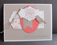 Jennifer Cornish's Swap featuring the Choose Happiness Stamp Set by Stampin' Up!