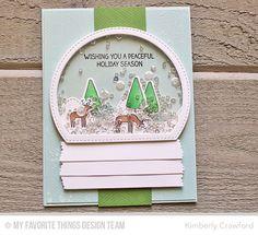 Winter Wonderland, Sketched Chevron Background, Blueprints 13 Die-namics, Stitched Arch STAX Die-namics, Stitched Mountain Range Die-namics - Kimberly Crawford  #mftstamps