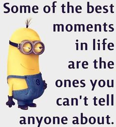 "Minion Quotes Love are cute captivating and funny. So scroll down and keep reading these ""Top Minion Quotes Love - Hilarious Humor Pictures Clean & Famous"". Minion Jokes, Minions Quotes, Minion Love Quotes, Minions Minions, Citation Minion, Saint Yves, Thats The Way, Just For Laughs, Decir No"
