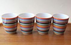 Other Scandinavian Art Glass Orange Mugs, Scandinavian Art, Finland, Glass Art, Tableware, Ebay, Dinnerware, Tablewares, Dishes