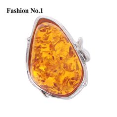 http://rubies.work/0201-ruby-rings/ New Design Sliver Plated Vintage Amber Stone Rings For Women 3 Colors Crystal Ruby Jewelry Dress