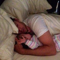 Dad & Daughter - Taylor & Denny Hamlin 07/16/13