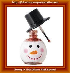 Frosty 'N Fab Glitter Nail Enamel