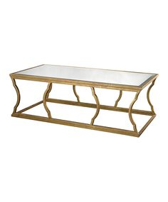 Look what I found on #zulily! Beveled Mirror Coffee Table by Elk Group #zulilyfinds