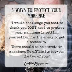 5 Ways to Protect Your Marriage