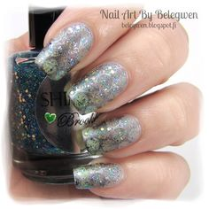 Nail Art by Belegwen: Shimmer Polish: Brooklyn