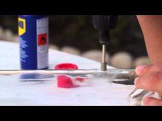 DIY: Cómo hacer agujero en cristal con Dremmel  Video