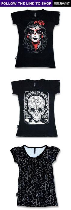 Shop women's alternative tops online at RebelsMarket.