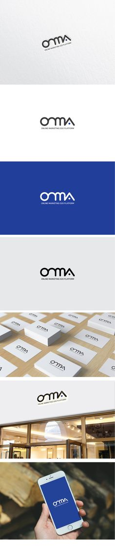 Design by tguitar / As an online marketing platform logo, powerful and …- Desi… - Top-Trends App Design, Brand Identity Design, Branding Design, Type Logo, Go Logo, Design Logo Inspiration, Architect Logo, Name Card Design, Japan Logo