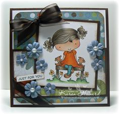 Wendy's Little Friends by Feline Creative - Cards and Paper Crafts at Splitcoaststampers
