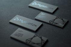 Unique Business Card, Myodetox via @BlogDuWebdesign #BusinessCards #Design