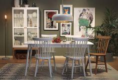 SALTÖ matbord och ORUST pinnstol #SvenskaHem #Pinnstol #Pholc #WattochVeke