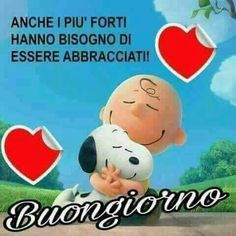 Buon giorno Good Morning Good Night, Day For Night, Good Morning Quotes, Messages, Wake Up, Decir No, Humor, Instagram Posts, Peanuts