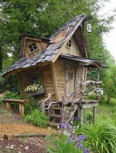 mooi speelhuisje bij vakantiehuis?!