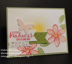 Garden in Bloom  and Kinda Eclectic stamp sets used details in my post at http://stampandcreate.net/colleens-stampin-up-party-fun/