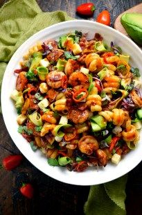 Smoky Shrimp Pasta S