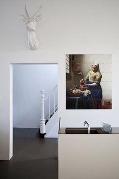 IXXI wanddecoratie Melkmeisje Johannes Vermeer bij @Vestameubelen