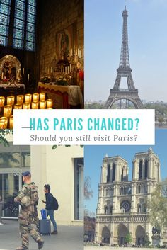 Yes,  there are soldiers on the streets and it's true to say Paris has changed.  But you should still plan a trip a trip to Paris