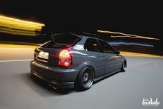 Civic Hatchback Love the #Stance? So does #Rvinyl, check out our full line of accessories at www.Rvinyl.com