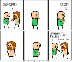 of Internet Funny Memes of the week Humor Religioso, Cyanide And Happiness Comics, Funny Images, Funny Pictures, Religious Humor, Old Memes, Atheism, Funny Comics, Comic Strips