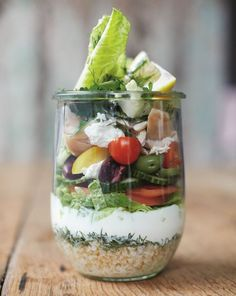 Try out Jamie Oliver's portable Moroccan salad for lunch this week.