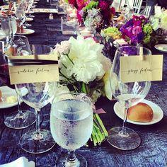 beautiful table setting #wedding