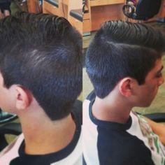 Mens Haircut #hairbyamie