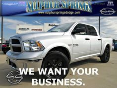 2015 Ram 1500 Outdoorsman! We want your business!