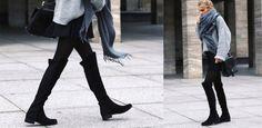 Tutte pazze per i cuissardes, gli stivali sopra il ginocchio: 5 outfit glam per…