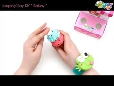 ▶ Brand new DIY Sets - The Bakery series - Jumping Clay Tutorial, How to make Clay Ice Cream Cones - YouTube - available @ shop.jumpingclay.co.uk