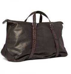 Bottega Veneta leather holdall