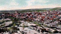 1910 view of Sudbury, Ontario