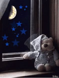 The perfect Dobranoc Bear Moon Animated GIF for your conversation. Discover and Share the best GIFs on Tenor. Cute Good Night, Good Night Sweet Dreams, Good Night Moon, Good Night Image, Good Morning Good Night, Good Night Blessings, Good Night Wishes, Good Night Quotes, Bear Gif