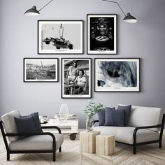 I've just found Selection Of Contemporary Black And White Prints. Choose from 14 stunning black and white images. Gallery Wall Bedroom, Gallery Wall Layout, Photo Wall Layout, Gallery Walls, Living Room Decor, Bedroom Decor, Bedroom Ideas, Black And White Photo Wall, Frames On Wall