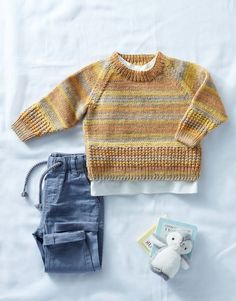 Knitting Pattern Baby Hooded Sweater Hoodie James Brett Double Knit DK JB610