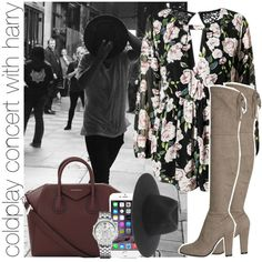 coldplay concert with harry by awk0cass on Polyvore featuring Givenchy, Tommy Hilfiger and rag & bone