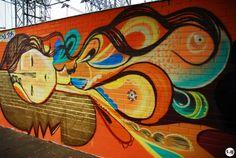 Street Art | by Mariana Castello | on Lounge Braznu Magazine #braznu #brazil #graffiti #streetart