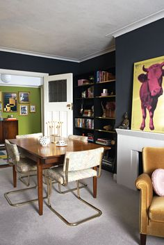 A shot of my living room that was featured in Homestyle magazine. www.sarahakwisombe.com