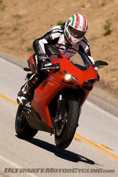 Ducati 848; a much easier streetbike than its bigger brother