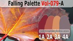 Falling Palette | Premo Color Recipes Vol-079-A
