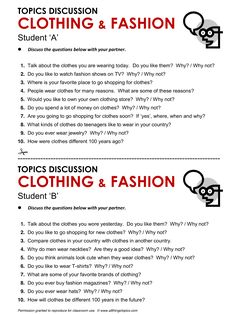 Clothing and Fashion, English, Learning English, Vocabulary, ESL, English Phrases, http://www.allthingstopics.com/clothing-and-fashion.html