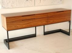 Wishbone Credenza by Skram | From a unique collection of antique and modern credenzas at http://www.1stdibs.com/furniture/storage-case-pieces/credenzas/