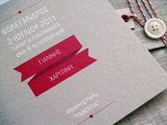 Invitation / Wedding at Folegandros by FIIL , via Behance