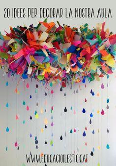 Educación y las TIC: 20 ideas para decorar nuestra aula